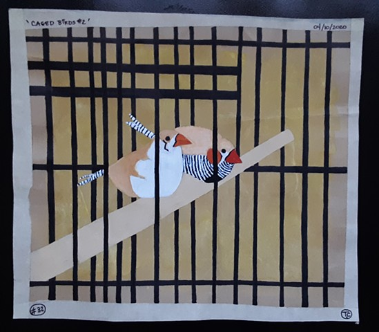 'Caged Birds #2'