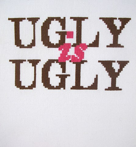 Ugly is an Ugly Word
