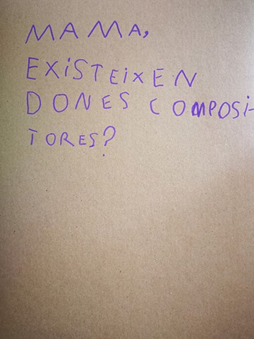 The first question (Do women composers exist?)