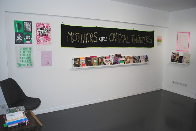 SFR Library and Archive. Installation at Gallery Tigomigo, Terrassa.