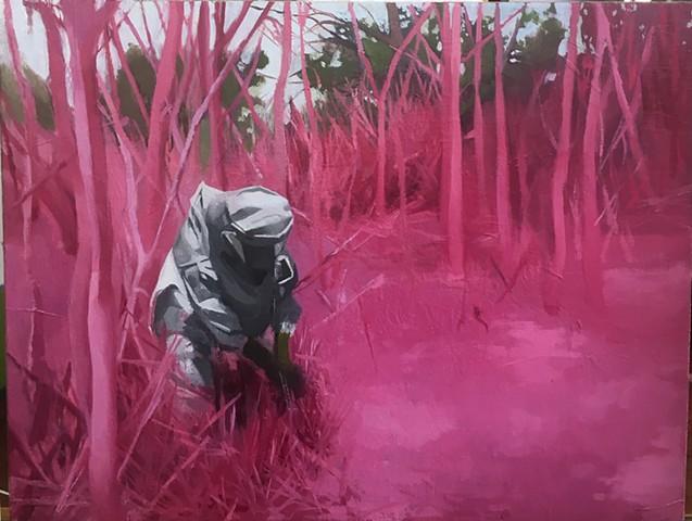 Inhaling Pink Dust
