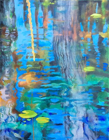 Linda Pence        water media painting