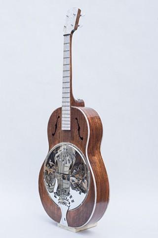 Piano Wood Resonator Tenor Guitar