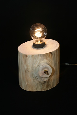 Stump Lamp