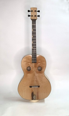 Flamed Maple Tenor Guitar