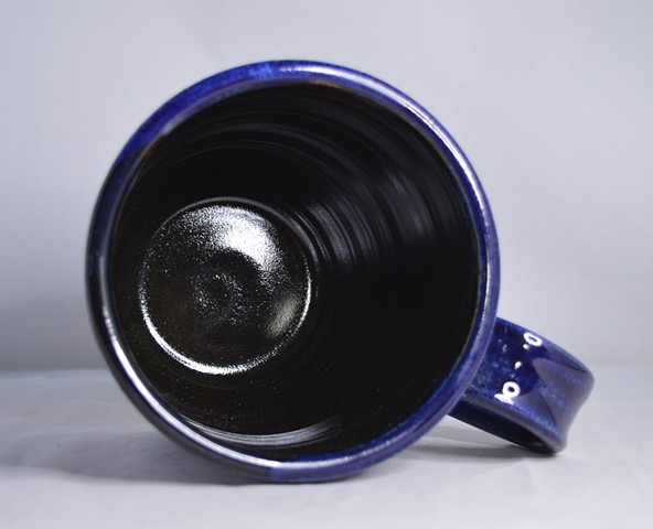 Large Blue Mug Interior