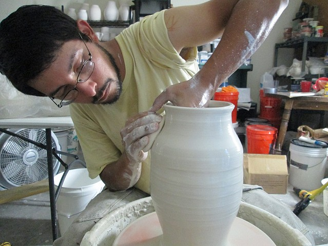 Making the Pottery