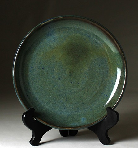 Green and Blue Plate