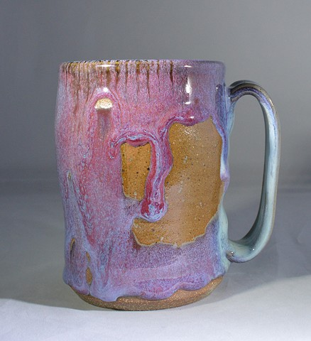 BLUE AND RED MUG