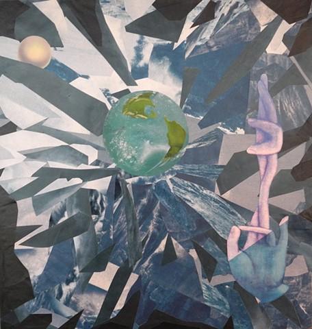 """New Earth...Fingers Crossed"" WM0161"