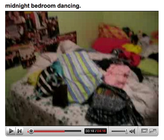 Midnight Bedroom Dancing