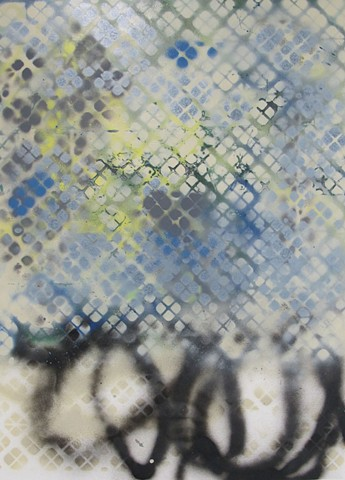 untitled (blue spray)
