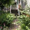 City garden entry, Cambridge