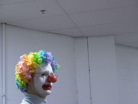 Solitary Clown