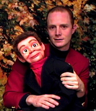Ventriloquist with Dummy