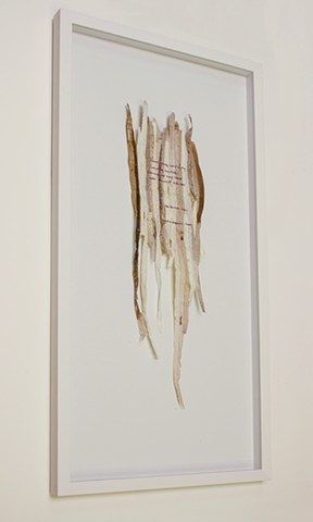 poetry, ink on sea grass, Don Soker Contemporary, San Francisco, Dimitra Skandali, Bay Area Art, Greek Art, Aegean Sea