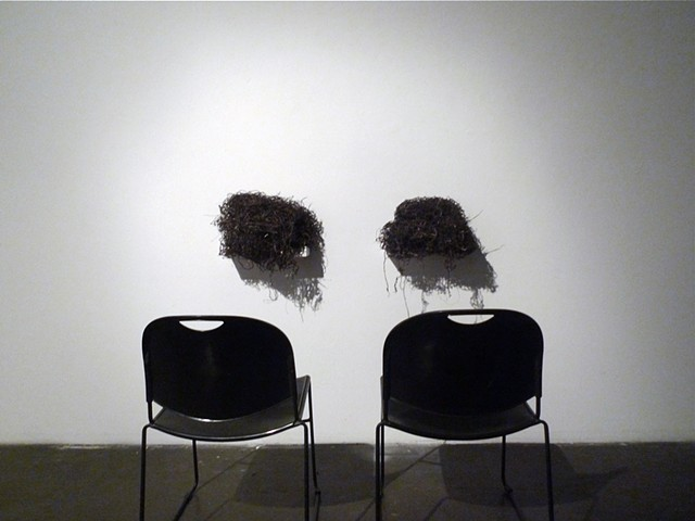 Folded seaweed nets as speakers