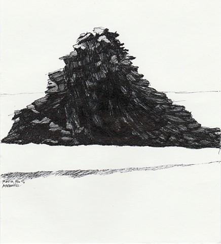 drawing, Mazunte, Mexico, Greece, Dimitra Skandali, Don Soker Contemporary Art, San Francisco