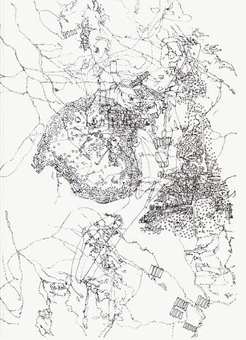 Untitled III, 2017 (study for Al Mogran III)