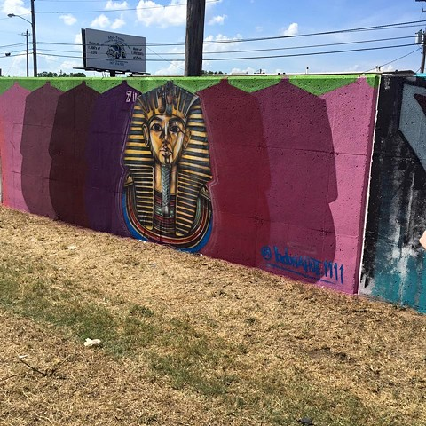King Tut @ Paint Memphis