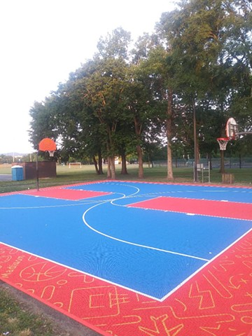 Madison Community Center Basketball Court