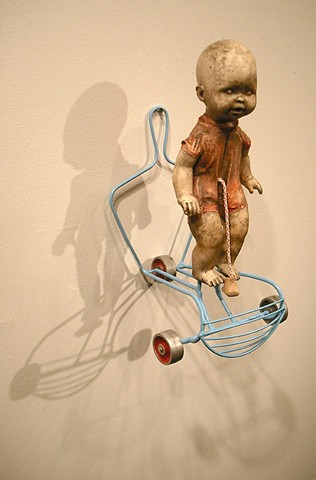 Baby Sculpture, Contemporary sculpture, Fatherhood and artmaking