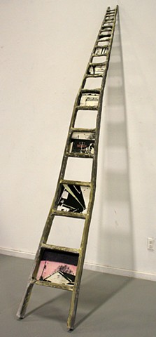 Ladders, Screen-Print