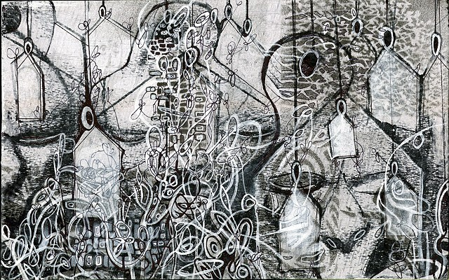 Jeremy Jones, Drawing, Printmaking, mixed media