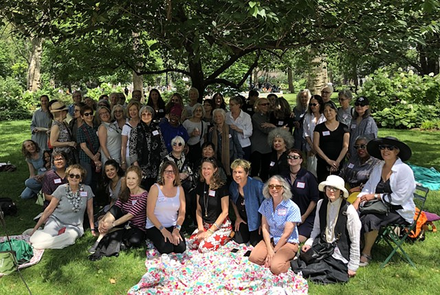'We Get to Pass the Torch': Former Recipients of Anonymous Was a Woman Artist Grants Assemble in New York Park for Star-Studded Picnic