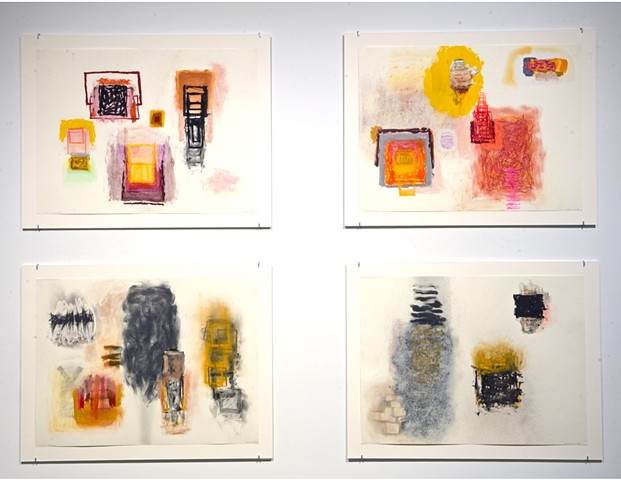Rocio Rodriguez's current retrospective at MOCA GA: Thirty Years on Paper- review is both in Spanish and English