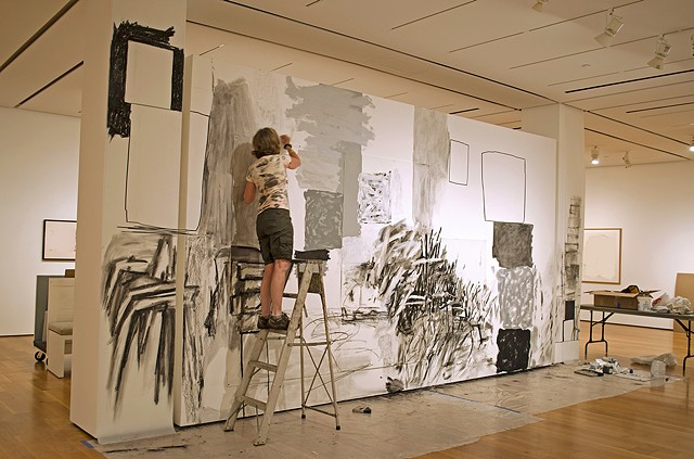 wall drawing, High Museum of Art, drawings