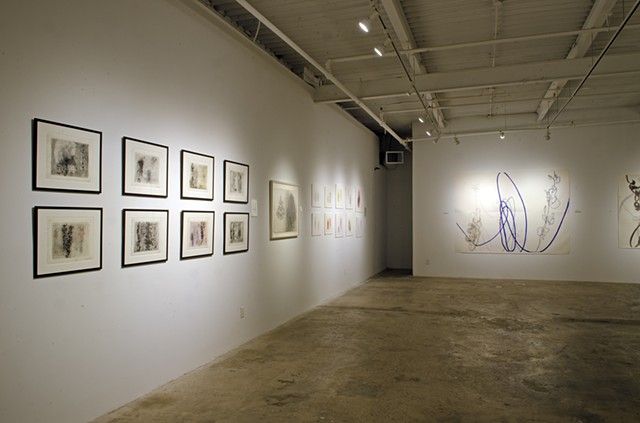 Rocio Rodriguez : Thirty Years on Paper at MocaGA. 103 Works on paper on exhibit.