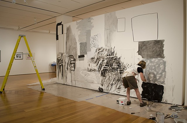 "Review of ""Drawing Inside the Perimeter"" exhibition at the High Museum of Art, 2013."