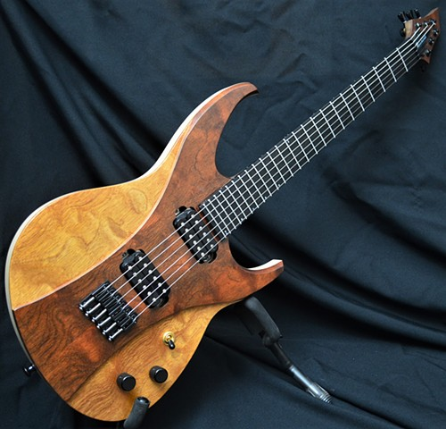Figured Mahogany 6-String