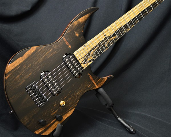 Ebony Moonscape 7-String