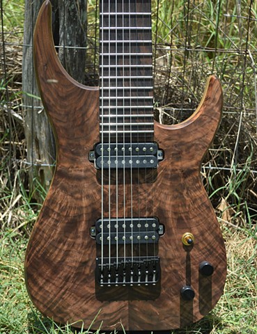Walnut and Korina 8-String