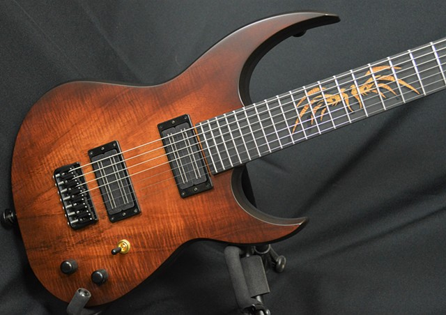 Koa and White Limba 7-String