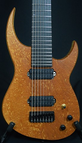 Plum Pudding Mahogany 8-String