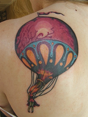 Circa Survive Hot Air Balloon Tattoo