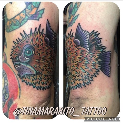 Blowfish Tattoo
