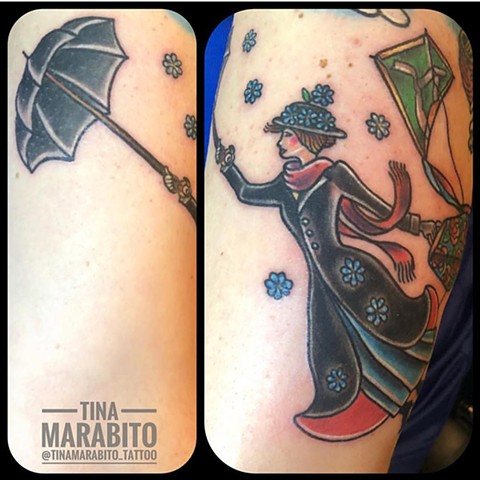 Mary Poppins Tattoo