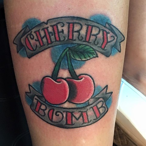 Cherry Bomb Tattoo