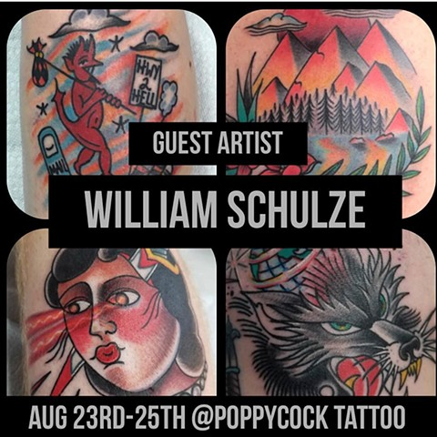 Guest Artist William Schulze