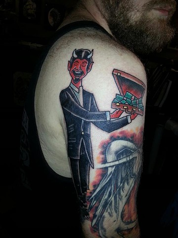 Devil Tattoo