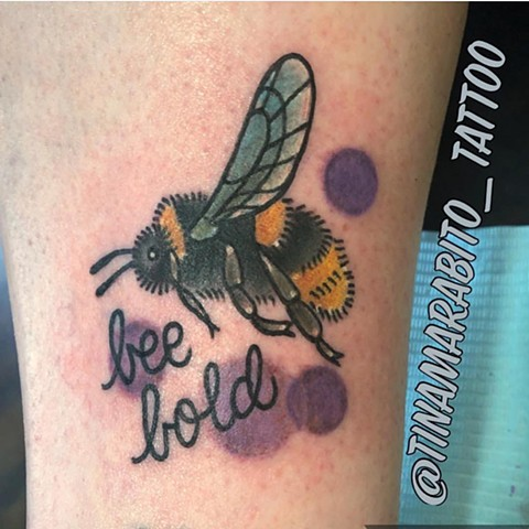 Bee Pun Tattoo