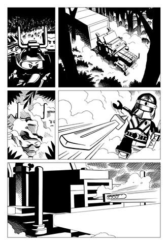 Ninjago book 10 page 6