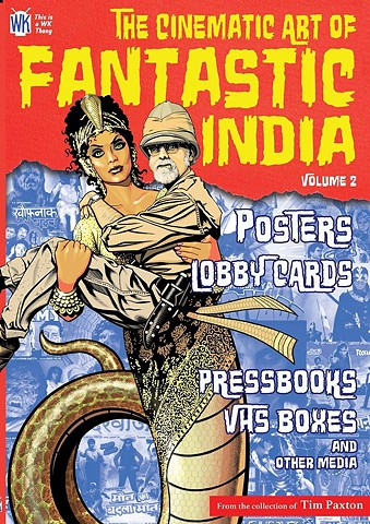Naagin cover for Fantastic India by Tim Paxton