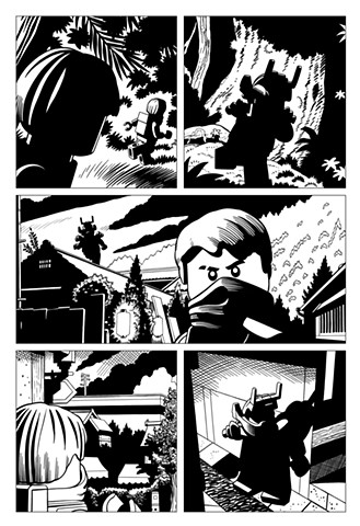 Ninjago book 10 page 10