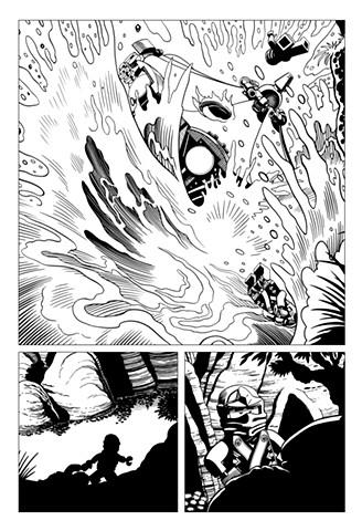 Ninjago Book 9 page 36