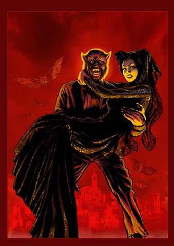 Jacinto Molina Paul Naschy Werewolf Spain Spanish Civil War Belchite